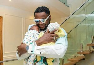 Kizz Daniel Gives Houses As Gift To His New Born Twins.